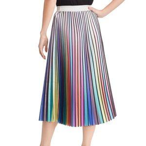 Lucy Paris rainbow pleated skirt